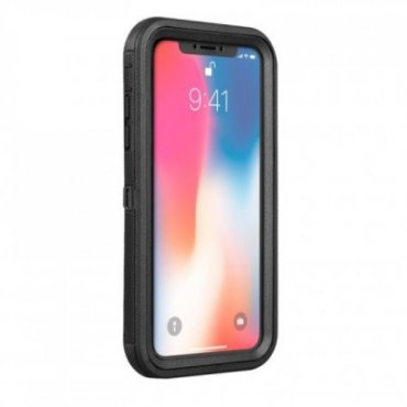 Durable cover with screen protector for iPhone XS,X