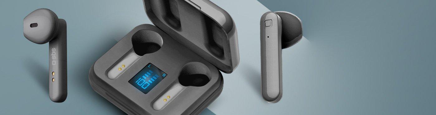 Écouteurs sans fil TWS LCD